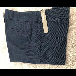 LOFT women's size 12 empire blue pants. NWT